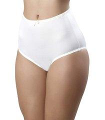 calcinha mardelle lateral larga branca - branco - feminino - dafiti