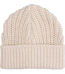 isabel marant joyce hats in beige wool