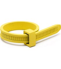 ambush zip tie ring - gold