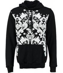 death by zero zwarte sweater hoodie
