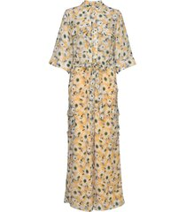macco flower jumpsuit geel line of oslo