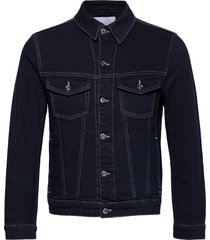 ran-indigo blue jeansjack denimjack blauw j. lindeberg