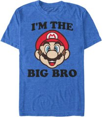 nintendo men's super mario big bro short sleeve t-shirt