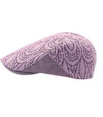 cappello regolabile per berretto da donna in cotone con berretto in pizzo e berretto casual