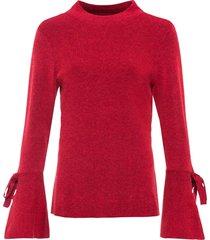 maglione con volant (rosso) - bodyflirt boutique