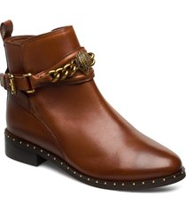 chelsea jodhpur shoes boots ankle boots ankle boots flat heel brun kurt geiger london