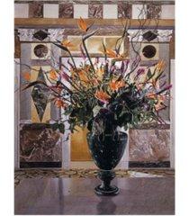 "david lloyd glover long necked birds j. paul getty museum canvas art - 15"" x 20"""