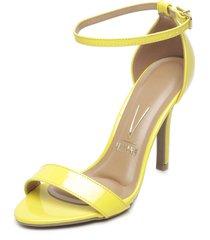 sandalia amarillo vizzano