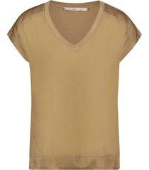 aaiko jena t-shirt beige