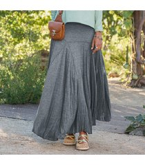 jersey swirl skirt