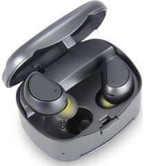 mini audífonos bluetooth inalámbricos música shuua 316t - gris