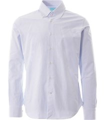 none of the above oxford shirt | blue stripe | notaral-bls