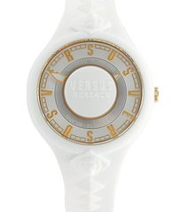 embossed silicone watch