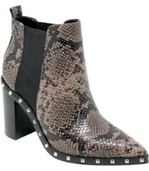 charles by charles david women's duke studded chelsea booties women's shoes