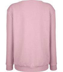 mjuk sweatshirt dress in rosa