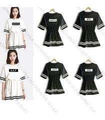 kpop women dress b.a.p exo bigbang bts got7 vixx ikon monsta x seventeen skirt