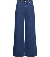 a line flare vida jeans blå lee jeans