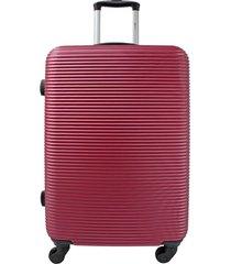 maleta de viaje mediana  rojo - explora