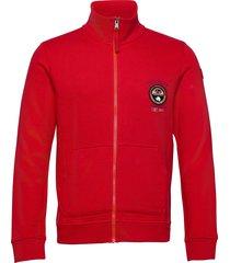 belice sweat-shirt tröja röd napapijri