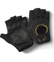 guantes negro puma fingered mujer