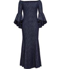 abito da sera con spalle scoperte (blu) - bodyflirt boutique