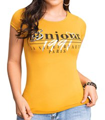blusa fenty amarillo para mujer croydon
