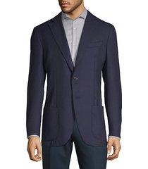notch wool sports coat