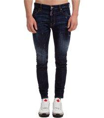 jeans uomo icon dsquared2 x ibrahimovic skater