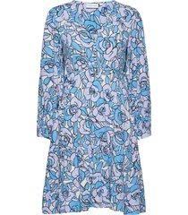 mila dress dresses everyday dresses blauw fabienne chapot