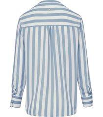 blouse met lange mouwen van (the mercer) n.y. blauw