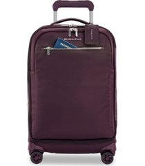 "briggs & riley rhapsody 22"" tall softside carry-on spinner"