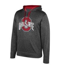 top of the world ohio state buckeyes men's big logo poly hoodie