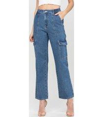 women's super high rise elastic waistband utility jeans