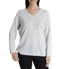 sweater mujer maria nylon gris rockford