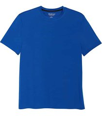 awearness kenneth cole men's awear-tech modern fit crew neck short sleeve tee bright blue - size: large