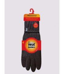 guantes termico invierno negro heat holders monarch