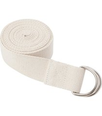 everyday yoga 8 foot strap d-ring natural cotton/polyester