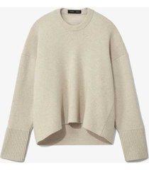 eco cashmere oversized sweater