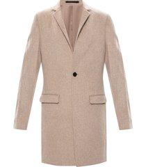 'manor' wool coat