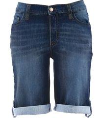 shorts di jeans elasticizzato comfort (blu) - john baner jeanswear