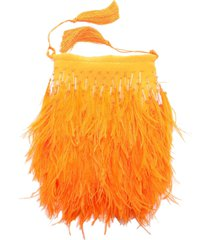 the attico feathers pouch