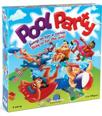 blue orange games pool party