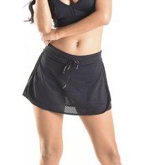 saia mama latina shorts versatile preto