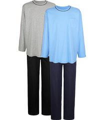 pyjama's per 2 stuks babista blauw::grijs