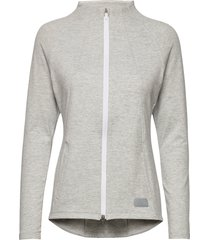 cloudspun w warm up jacket sweat-shirt tröja grå puma golf