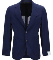 caruso tosca wool blend blazer
