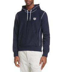 men's kenzo tiger crest pullover hoodie