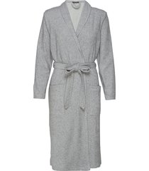 bath robe home night & loungewear robes grijs schiesser