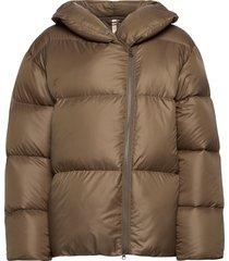 janessa puffer jacket fodrad jacka brun filippa k soft sport