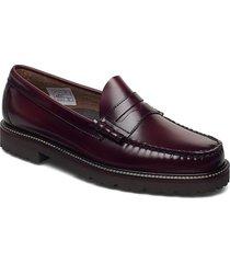 gh weejun 90 larson penny loafers låga skor brun g.h. bass
